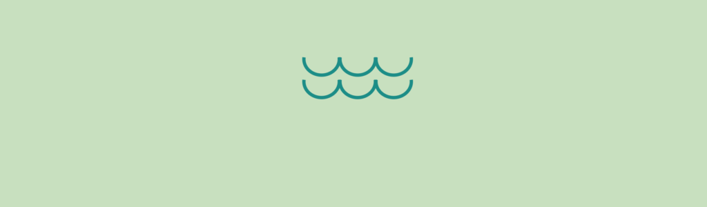 water icon on green