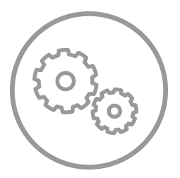 two interlocking gears
